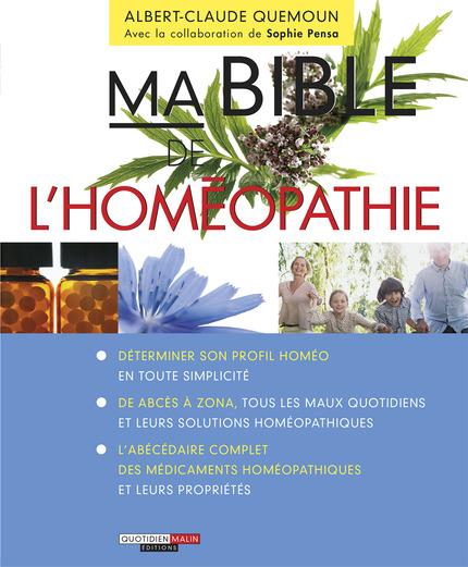leduc s ditions ma bible de l 39 hom opathie l hom opathie une solution accessible efficace. Black Bedroom Furniture Sets. Home Design Ideas