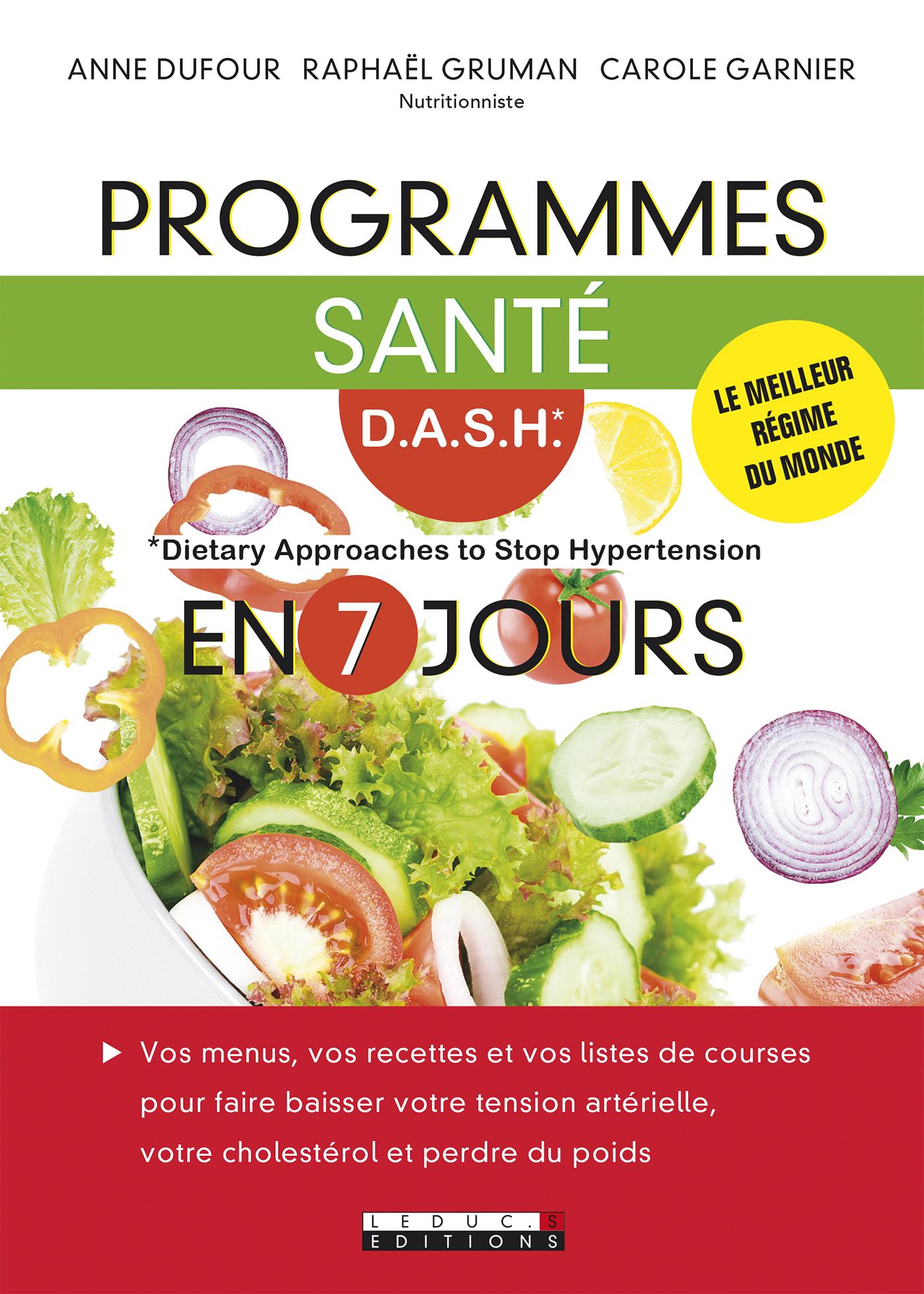 Beliebt Leduc.s éditions : Programmes santé D.A.S.H en 7 jours - Le  GN19
