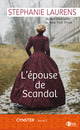 L'épouse de Scandal De Stephanie Laurens - Éditions Charleston