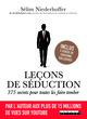 Leçons de séduction : 375 secrets pour toutes les faire tomber De Sélim Niederhoffer - Leduc.s éditions