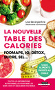 La nouvelle table des calories De Lise Decarpentrie - Leduc.s éditions
