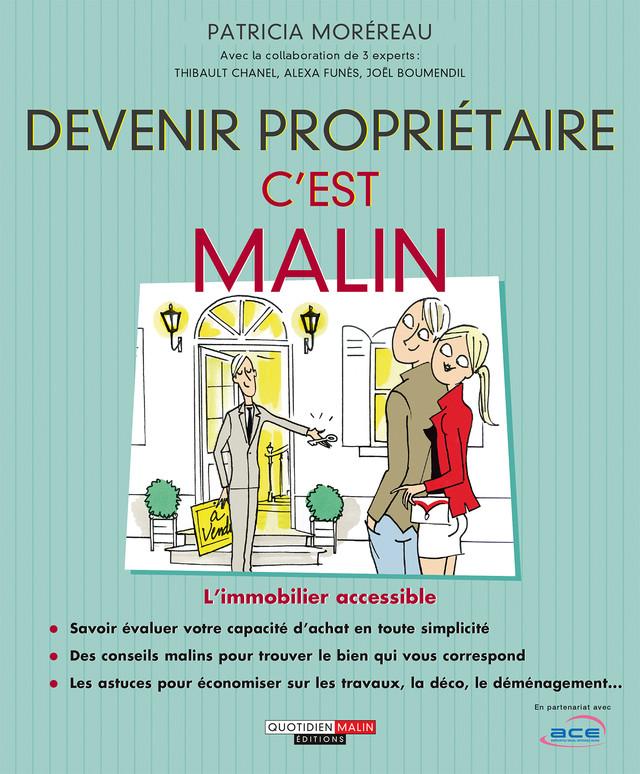 Devenir propriétaire, c'est malin - Patricia Moréreau - Éditions Leduc