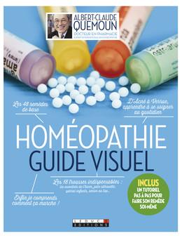 Homéopathie, le guide visuel - Albert-Claude Quemoun, Sophie Pensa - Éditions Leduc Pratique