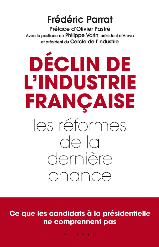 Déclin de l'industrie française - Frédéric Parrat - Éditions Leduc