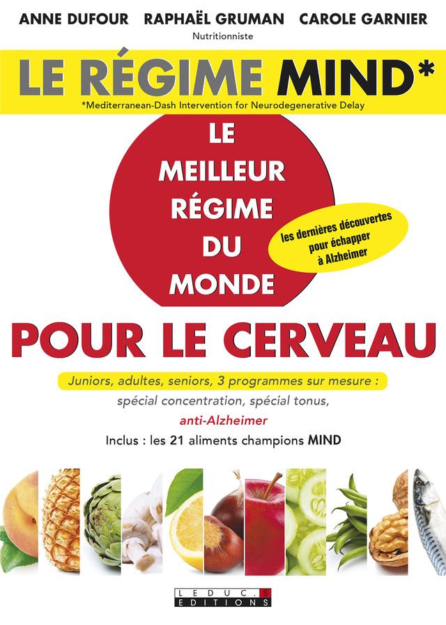Le régime Mind - Anne Dufour, Raphaël Gruman, Carole Garnier - Éditions Leduc