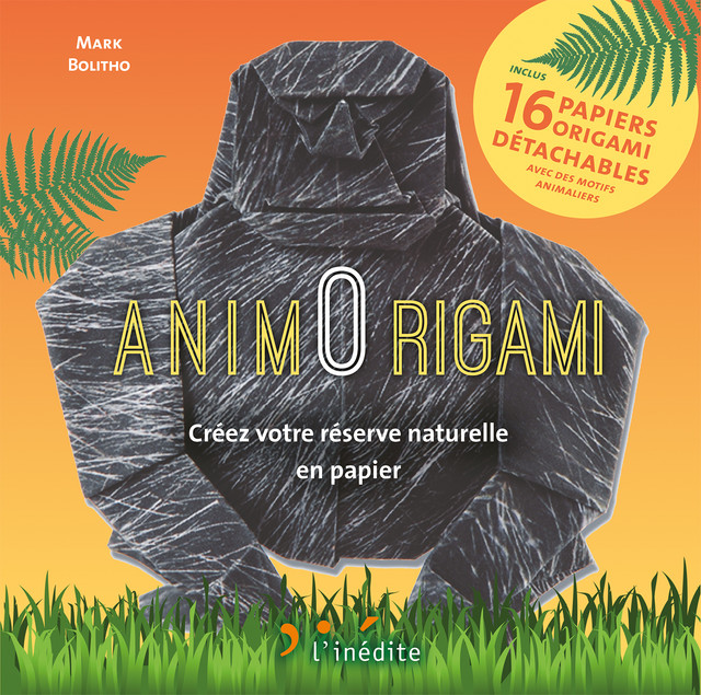 AnimOrigami  - Mark Bolitho - Éditions L'Inédite