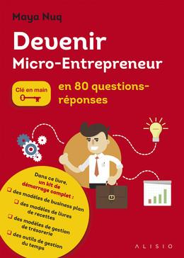Devenir micro-entrepreneur - Maya Nuq - Éditions Alisio