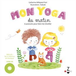 Mon yoga du matin - Mon yoga du soir - Catherine Millepied-Flori - Éditions Leduc