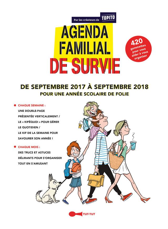 Agenda familial de survie - Topito -  Topito, Marie Thuillier - Éditions Leduc Humour