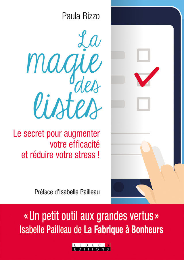 La magie des listes - Paula Rizzo - Éditions Leduc Pratique