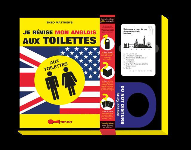 Je révise mon anglais aux toilettes - Coffret - Enzo Matthews - Éditions Leduc Humour