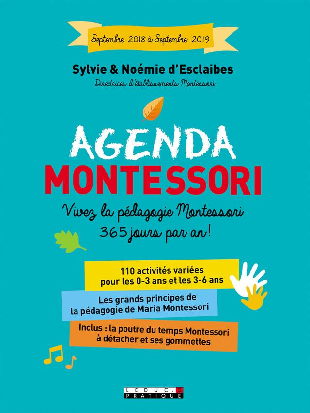 Agenda Montessori Vivez La Pédagogie Montessori 365 Jours Par An