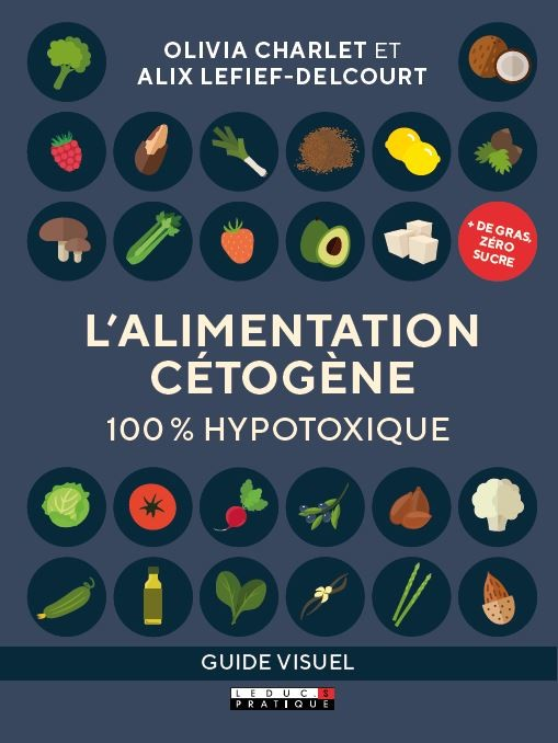 L'ALIMENTATION CÉTOGÈNE 100 % HYPOTOXIQUE - Olivia Charlet, Alix Lefief-Delcourt - Éditions Leduc