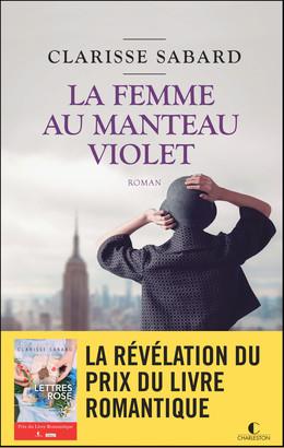 La femme au manteau violet - Clarisse Sabard - Éditions Charleston