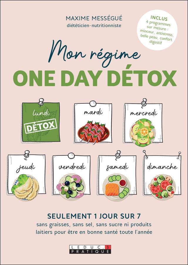 Phyto-détox - Maxime Mességué - Éditions Leduc