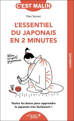 L'essentiel du japonais en 2 minutes - Nao Sensei - Éditions Leduc Pratique