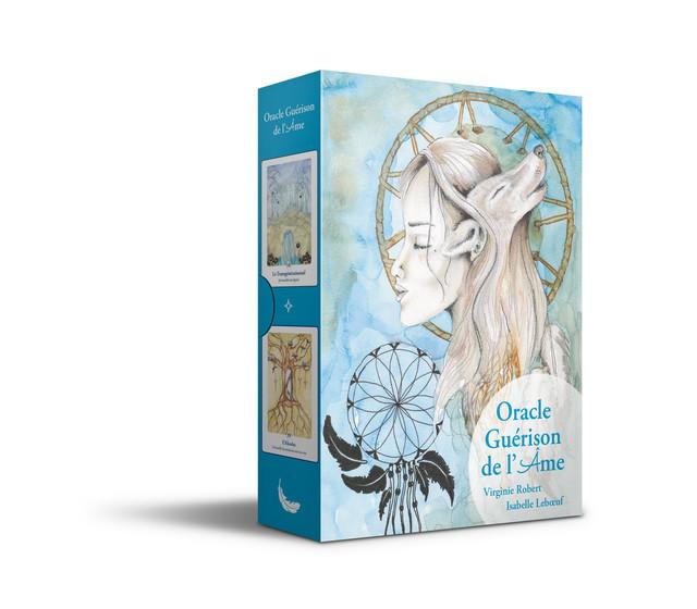 Oracle guérison de l'âme - Virginie Robert - Éditions Leduc