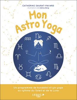 Moon Astro Yoga - Catherine Saurat-Pavard - Éditions Leduc