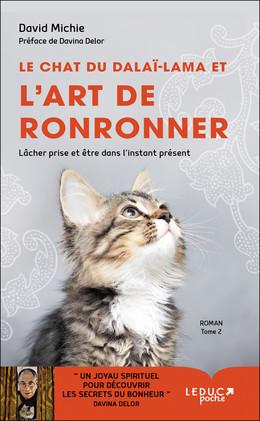 Le chat du Dalaï Lama et l'art de ronronner - David Michie - Éditions Leduc