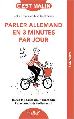 L'essentiel de l'allemand en 2 minutes - Petra Treuer, Julie Bachmann - Éditions Leduc