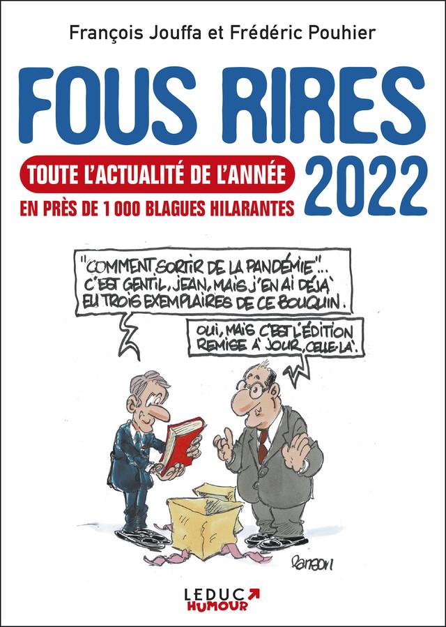 Fous rires 2022 - François Jouffa, Frédéric Pouhier - Éditions Leduc
