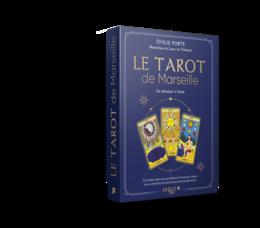 Coffret tarot de Marseille - Emilie  Porte - Éditions Leduc
