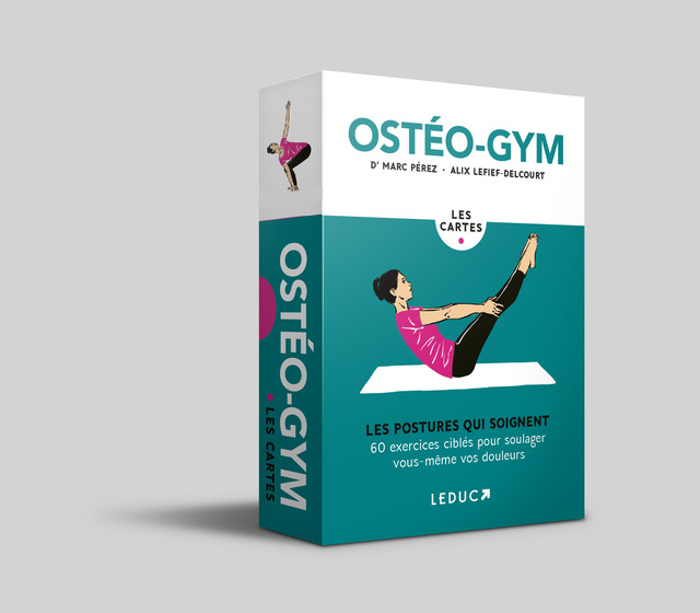 Ostéo-gym, les cartes - Dr Marc Pérez, Alix Lefief-Delcourt - Éditions Leduc